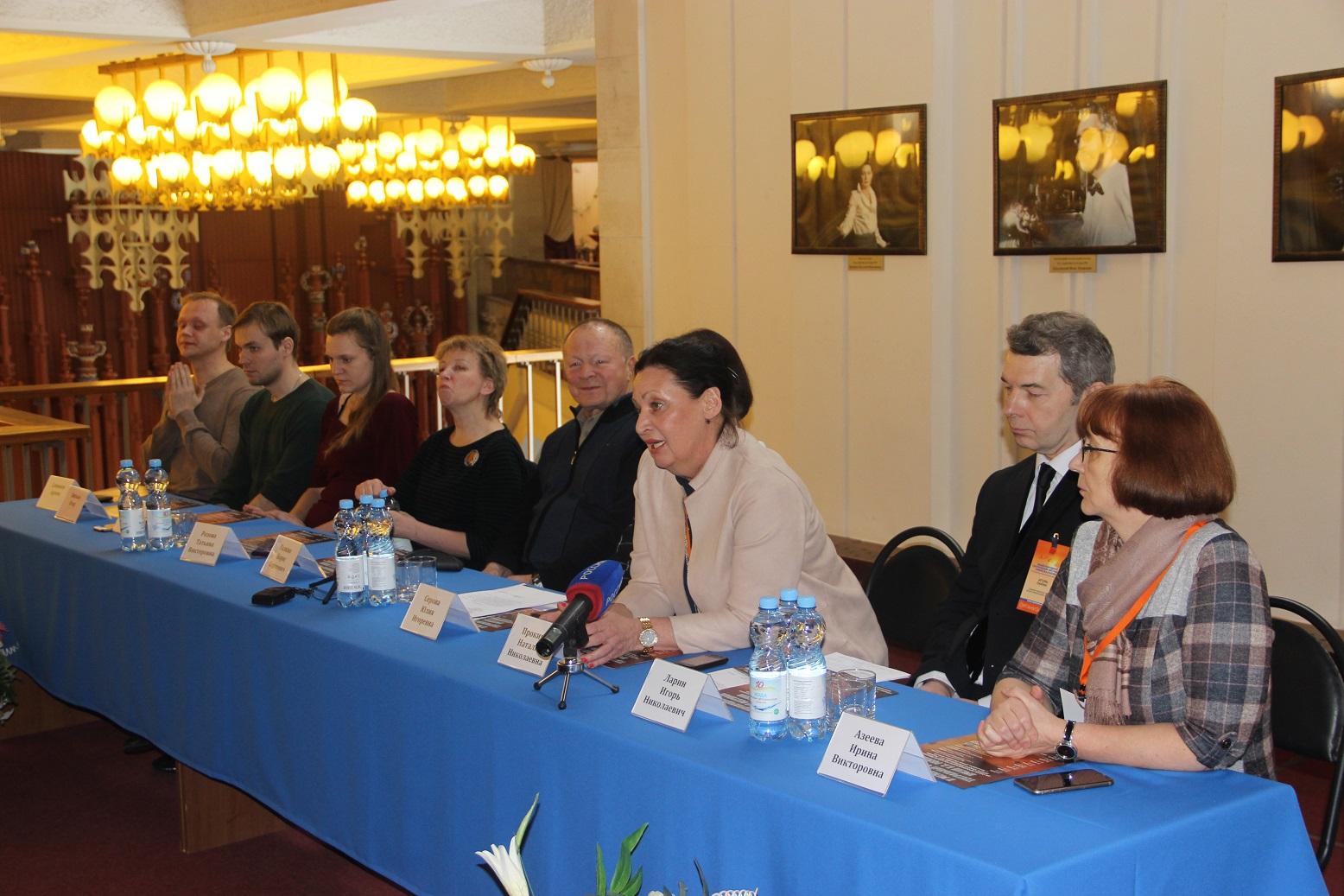 Пресс-конференция, посвященная открытию II Международного театрального фестиваля имени В.С. Розова