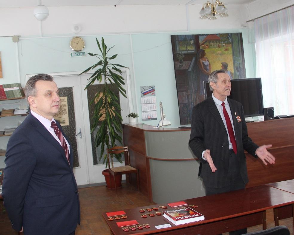 Депутат-коммунист встретился с ветеранами Дзержинского района