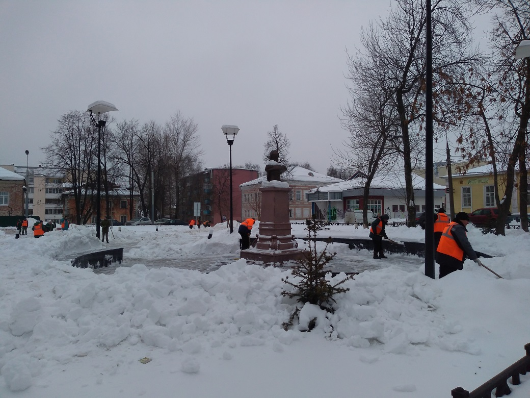 В Ярославле введут налог на снег
