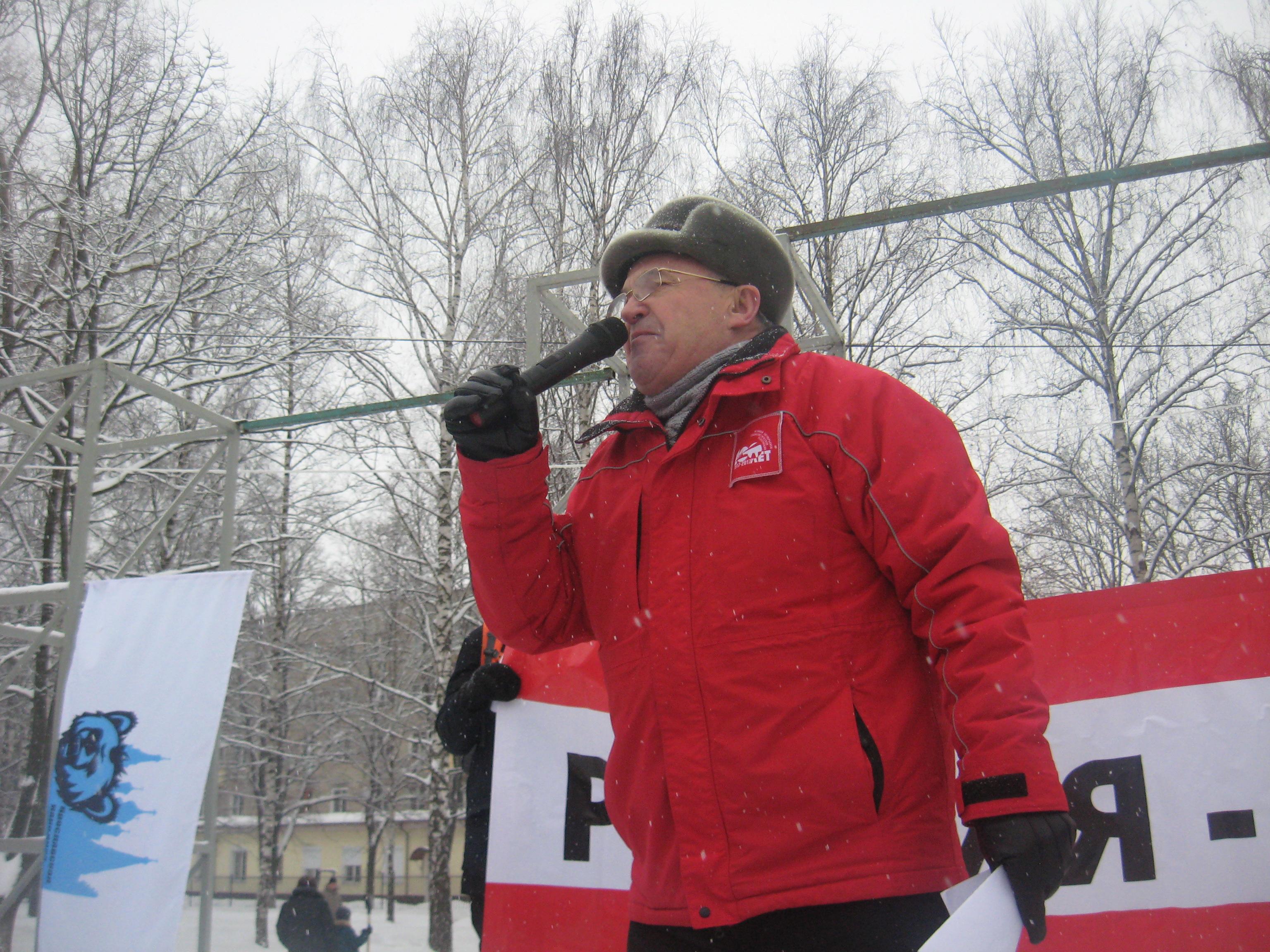 Из выступления Александра Воробьева на митинге в Ярославле (видео)