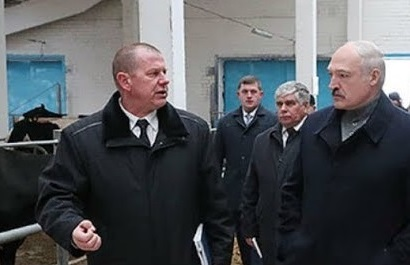 Президент Лукашенко уволил чиновников за «Освенцим» в коровнике (видео)