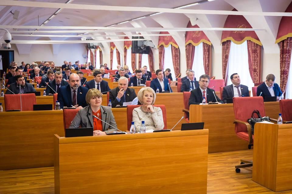 Депутаты областной думы узнали, что потребовали ярославцы на акции протеста