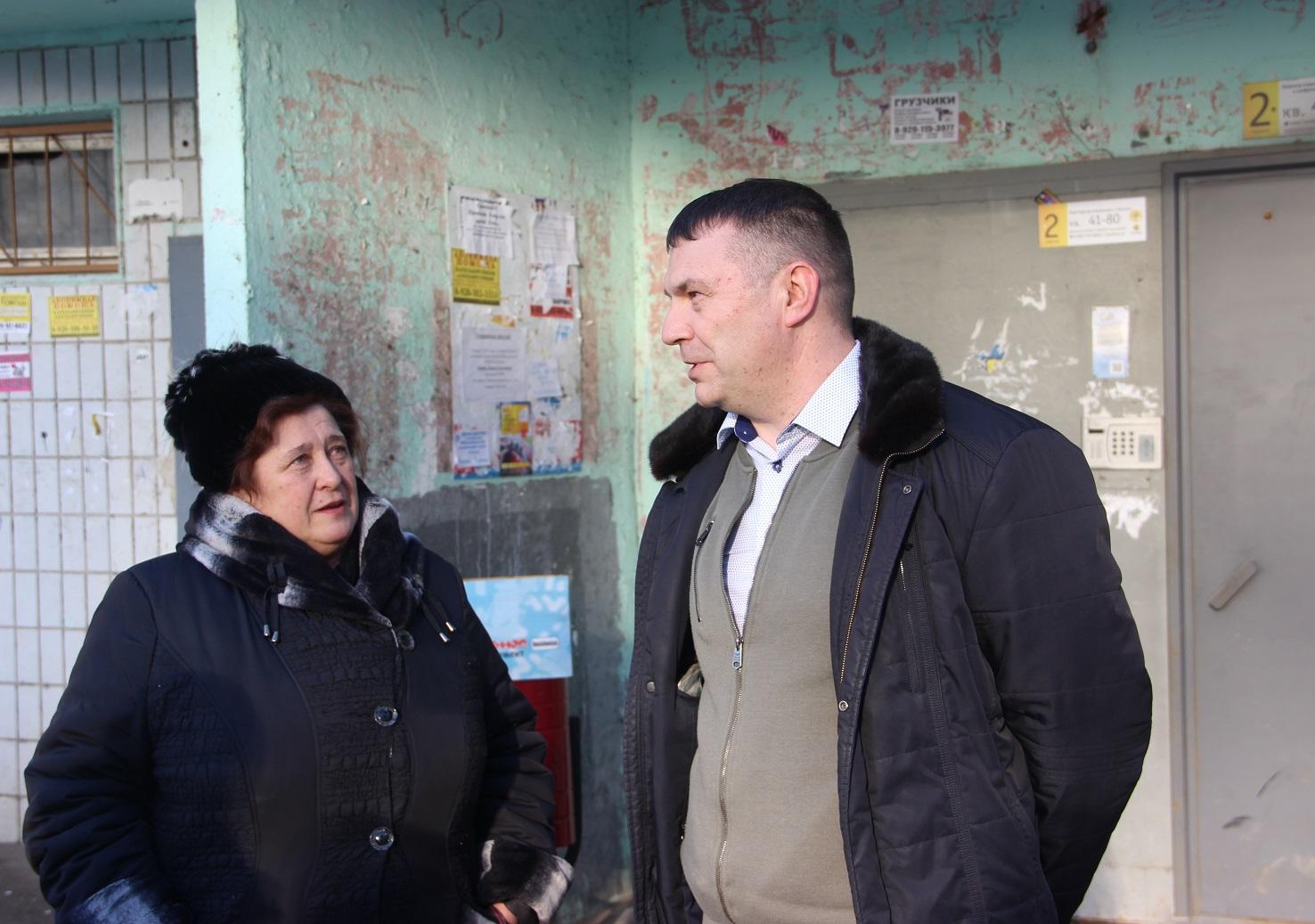 Депутат Денис Дёмин встретился с жителями Брагино