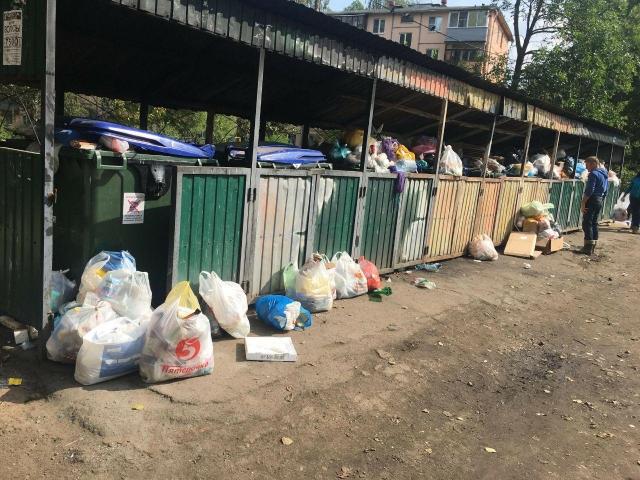 Мэрский проект переноса контейнеров отправлен на доработку