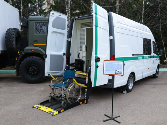 Тюремные автозаки для инвалидов и матерей с детьми