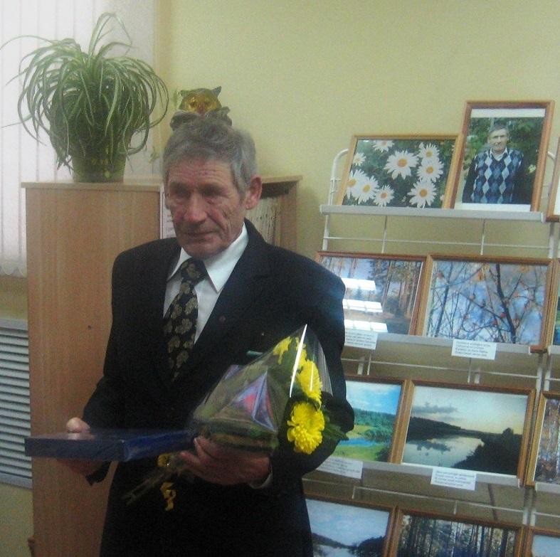 Друзья и товарищи поздравляют Г. А. Хохлова с днем рождения!