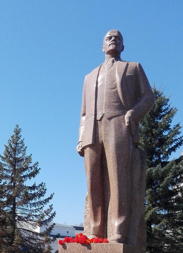 Пошехонцы чтут В. И. Ленина