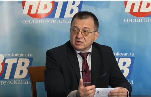 Депутат КПРФ Андрей Ершов на телеканале «Новый вестник» (видео)