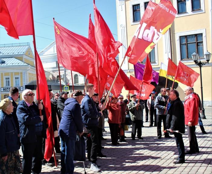 Первомай в Рыбинске (фоторепортаж)