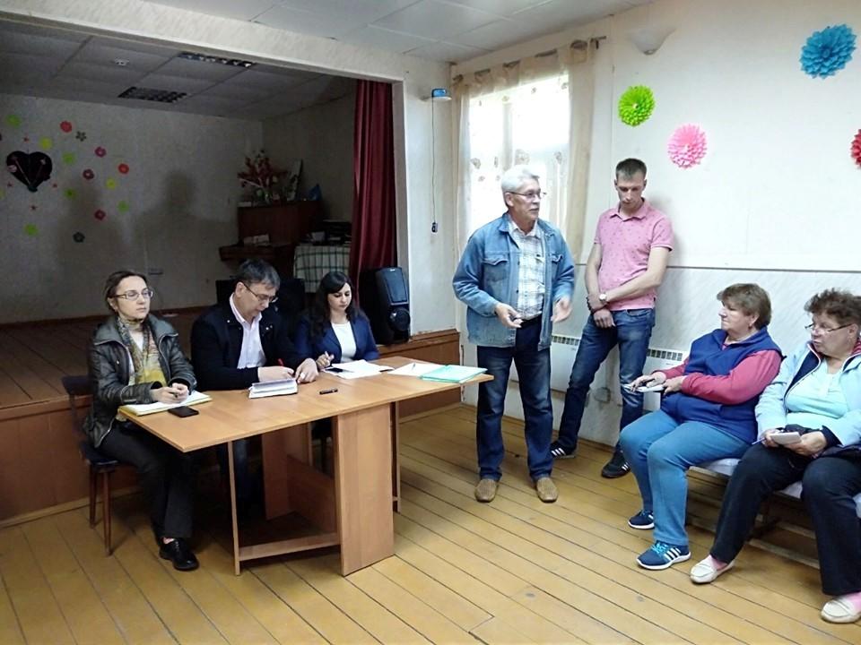 «Круглый стол» в Прусово объединил жителей