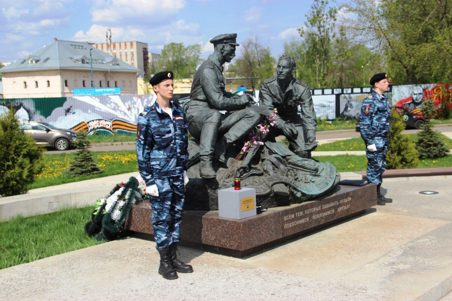 Депутаты-коммунисты приняли участие в памятном мероприятии у мемориала военным финансистам (фоторепортаж)