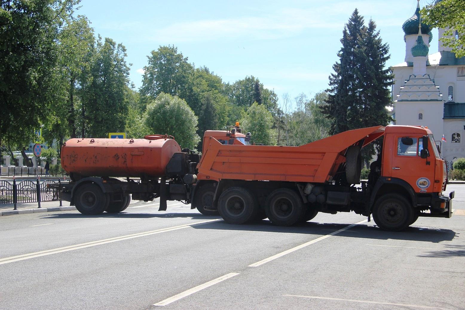 КАМАЗы на улицах Ярославля