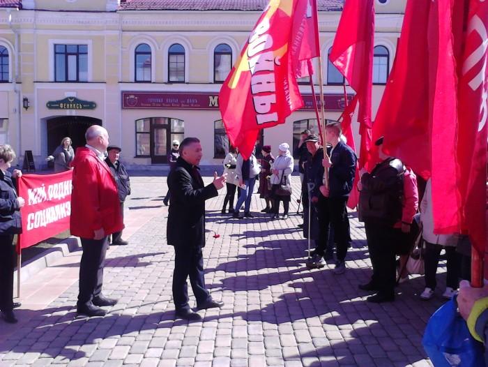 Первомай в Рыбинске 2019 (фоторепортаж)