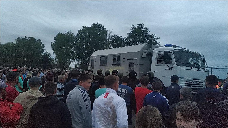 Бездействие полиции могло спровоцировать конфликт в Чемодановке