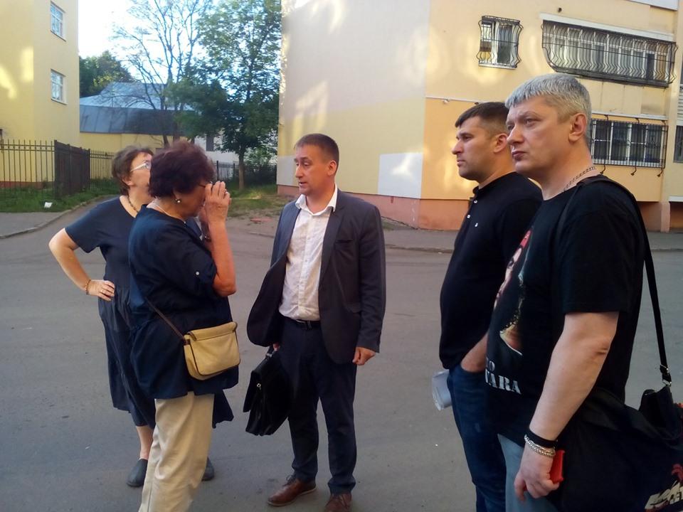 Депутаты фракции КПРФ встретились с жителями Ярославля