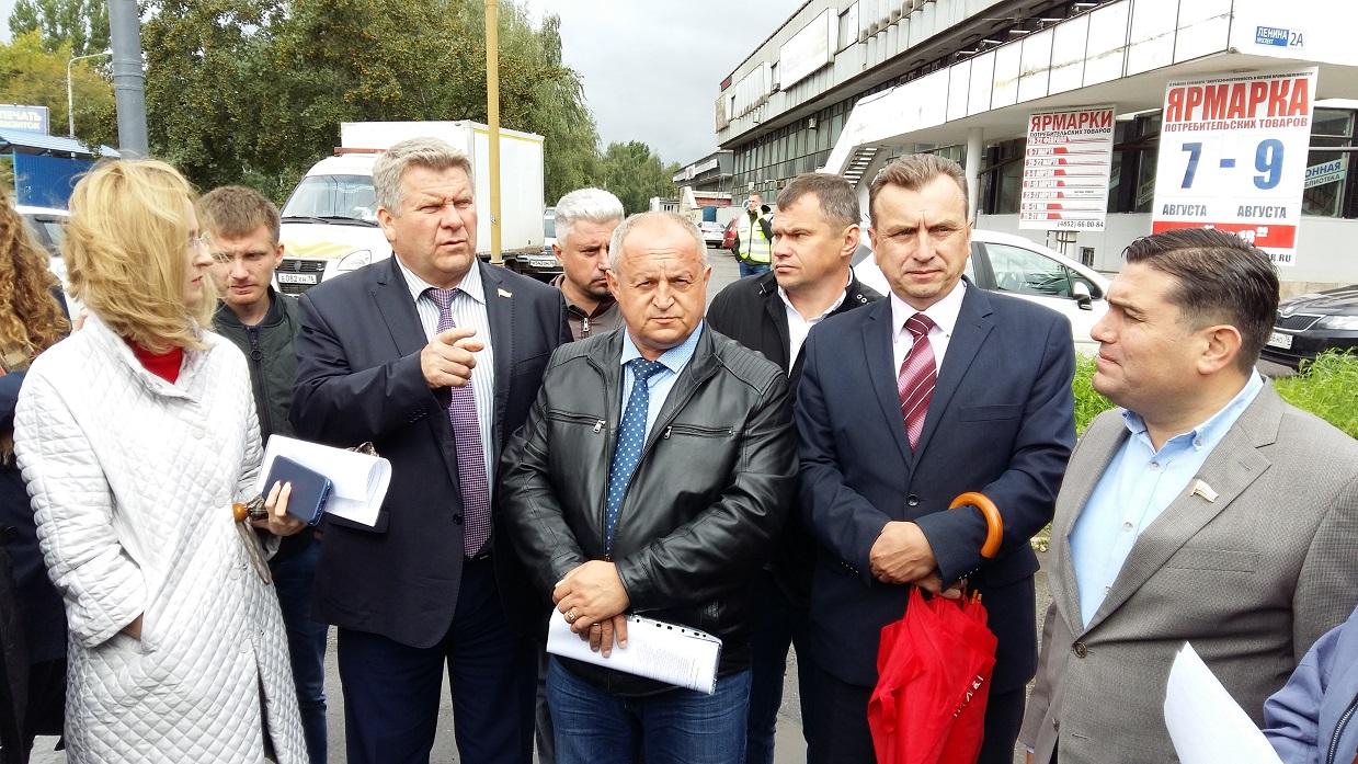 Депутаты КПРФ проверяют качество ремонта дорог