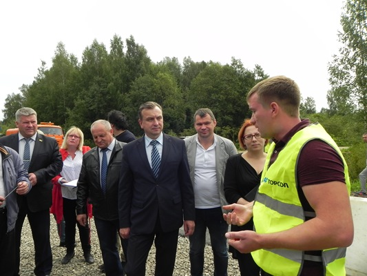 Идет проверка качества ремонта дорог в Рыбинском районе