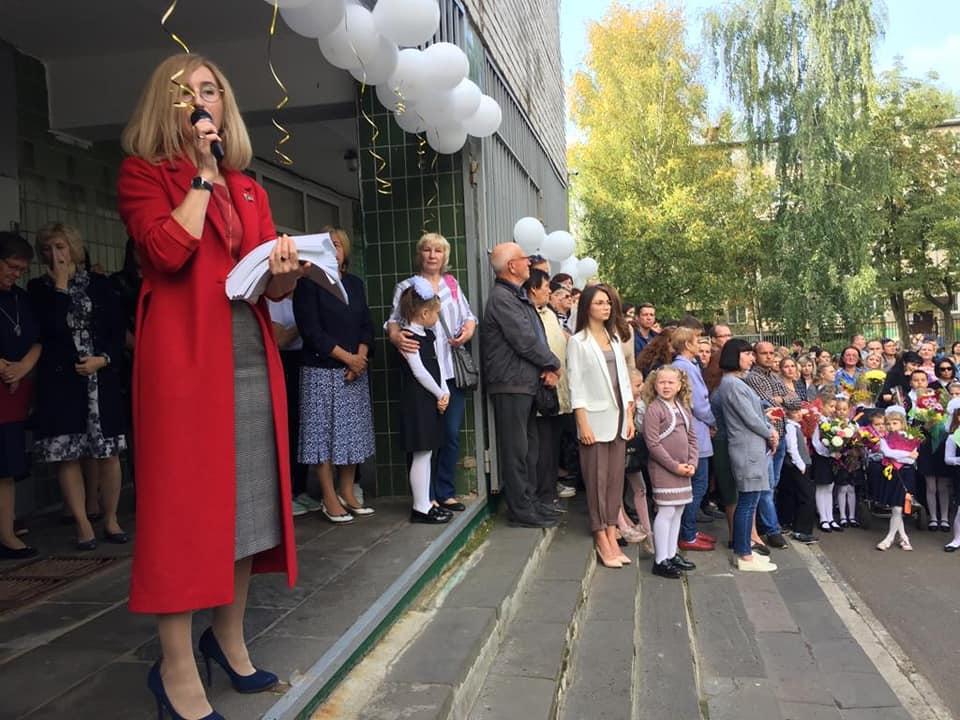 Депутаты коммунисты поздравили школьников Ярославля с началом нового учебного года!