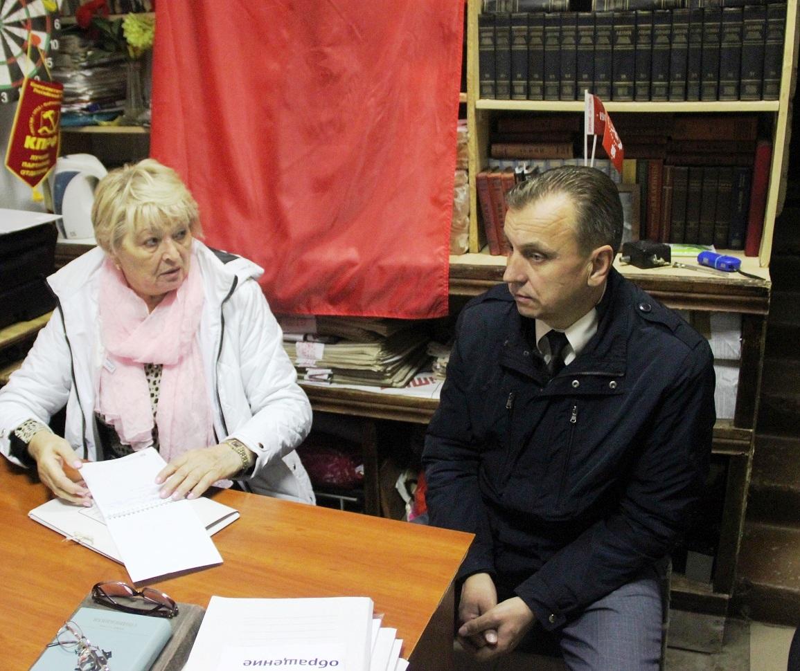 Общественная приемная Тутаевского райкома КПРФ открыта для жителей города и района