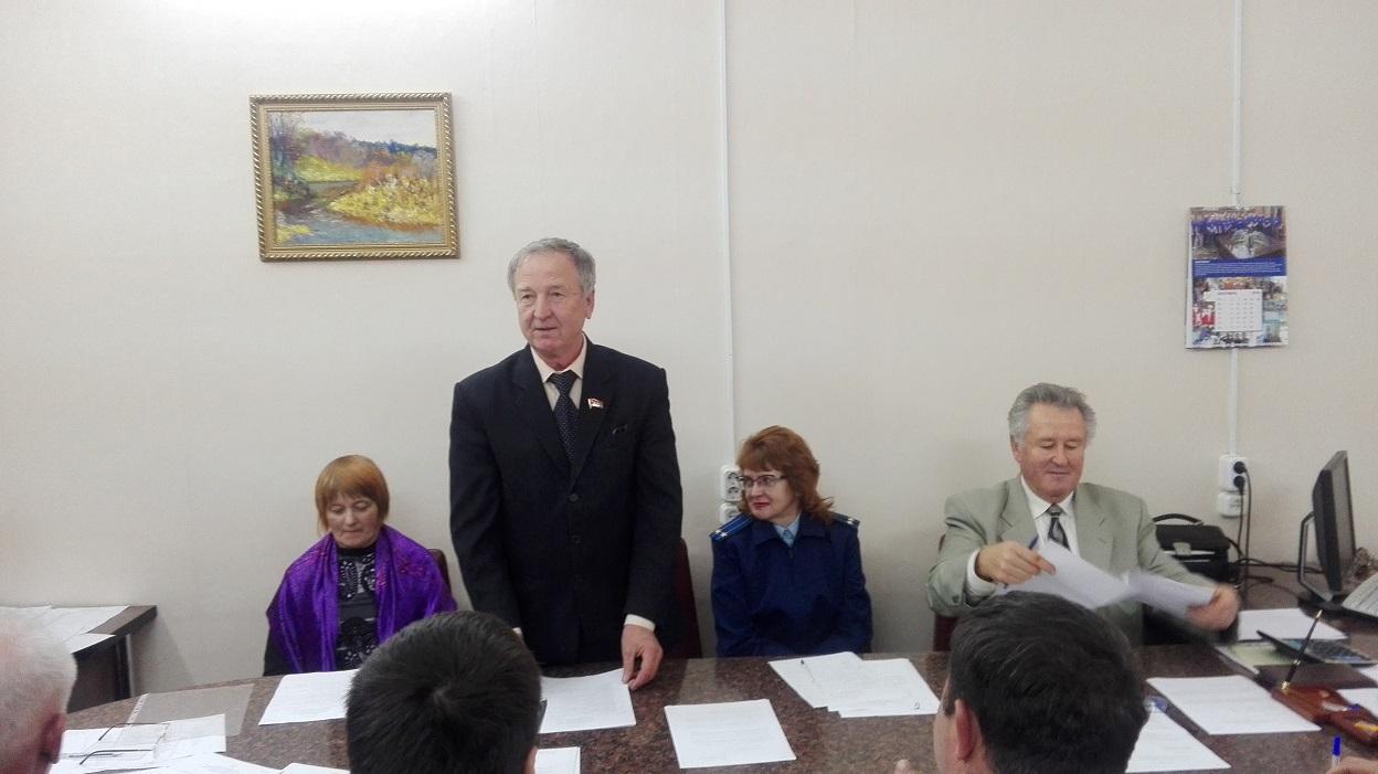 Председателем Муниципального Совета городского поселения Пошехонье избран член КПРФ
