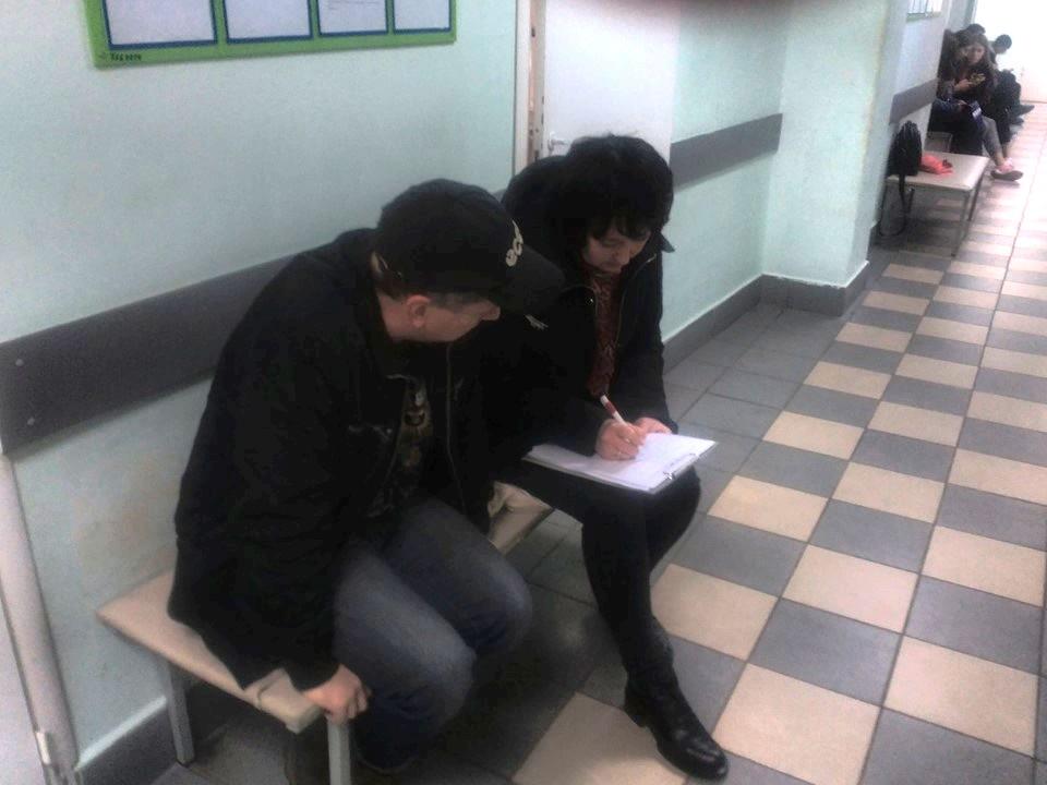 Коммунисты провели анкетирование в детской поликлинике