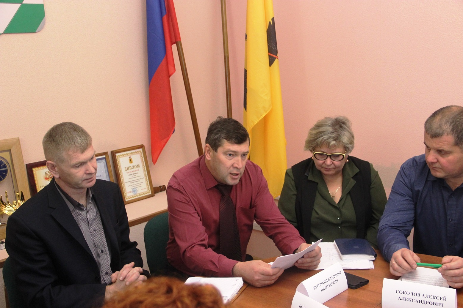 В Муниципальном Совете городского поселения Данилов зарегистрирована депутатская фракция КПРФ