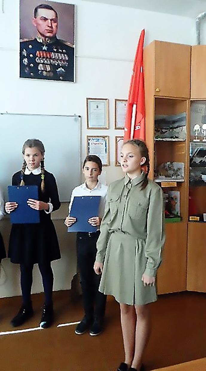 Встреча ветеранов в рыбинской школе № 20