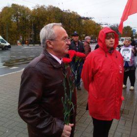 Выступает Александр Воробьев