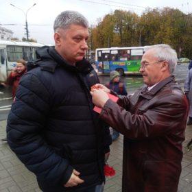 Памятная медаль А.С.Филиппову