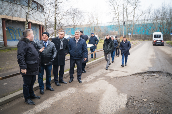 Депутаты проконтролировали состояние дорог Красноперекопского района