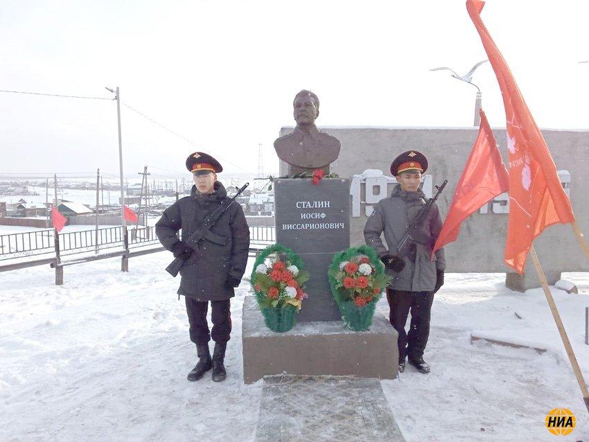 Памятник Сталину открыт в якутском селе