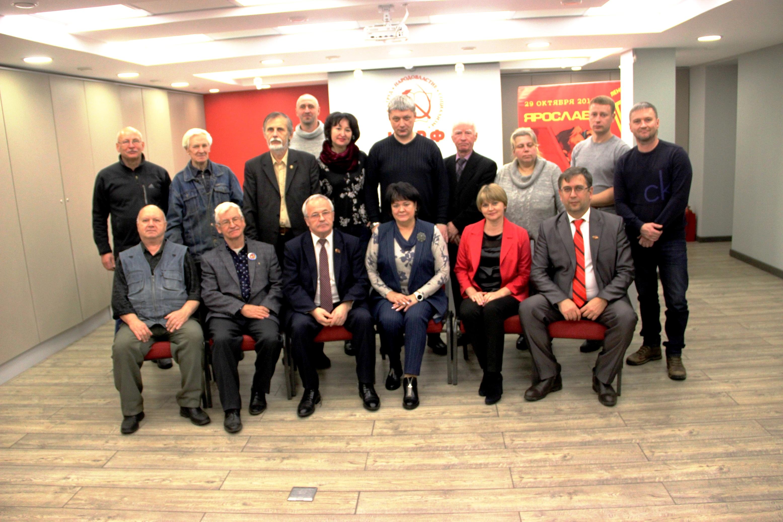 В Ярославле состоялась встреча Первого секретарь Иркутского горкома КПРФ Ольги Носенко с коммунистами и жителями области