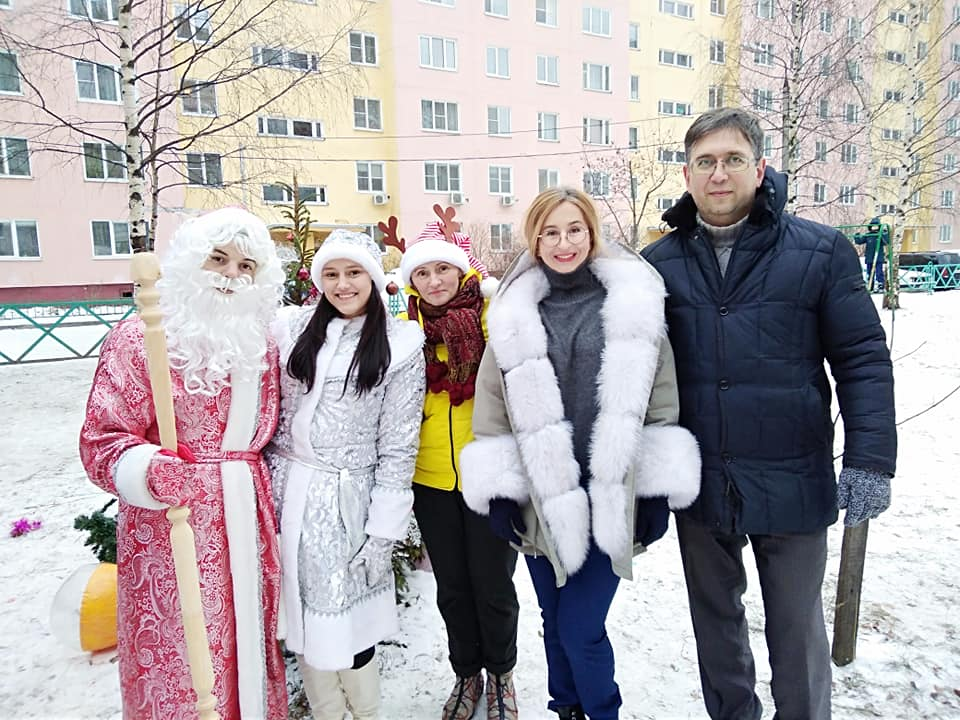 Ёлка КПРФ в Заволжском районе
