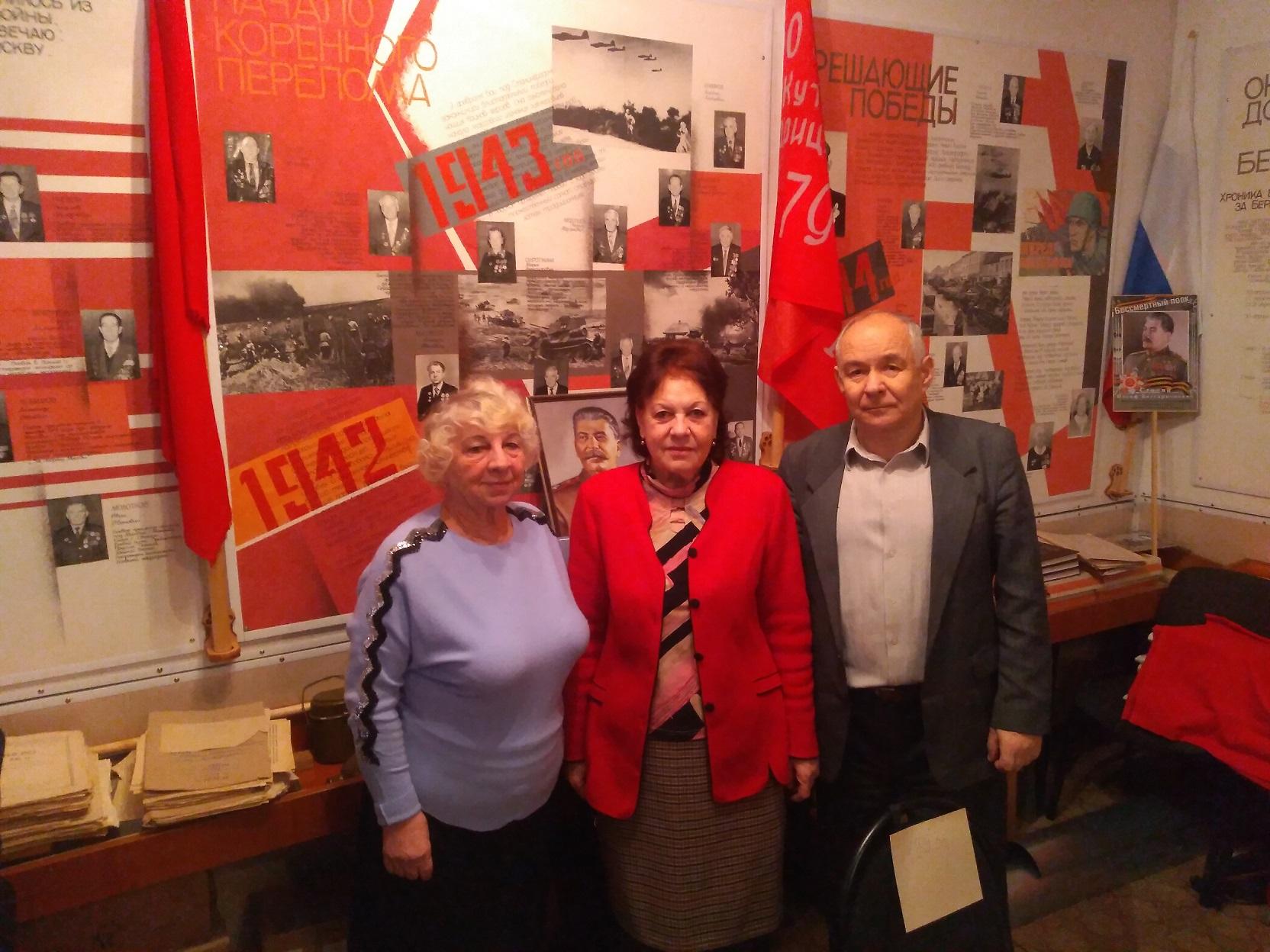 Актив Ростовского райкома КПРФ – ветеранские организации и «дети войны»