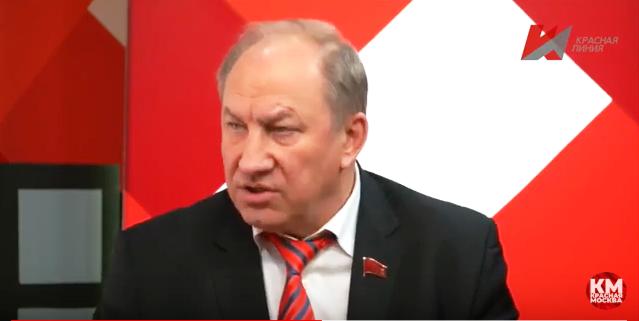 Единую Россию — поганой метлой! (видео)