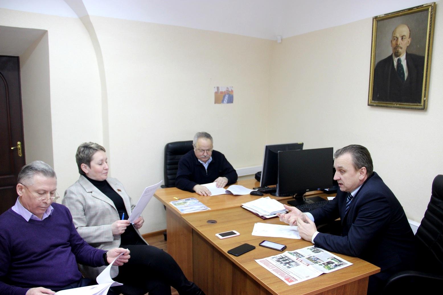 Депутаты фракции КПРФ вносят поправки в законопроект