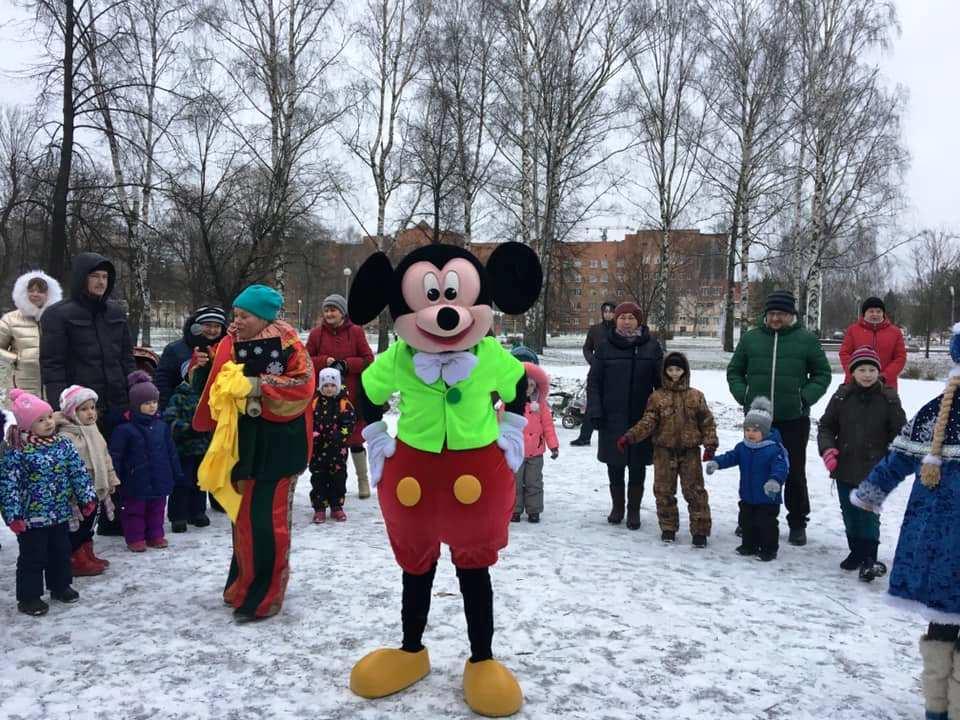 Ярославские коммунисты поздравляют детишек с Новым годом