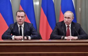 Russian government announces collective resignation