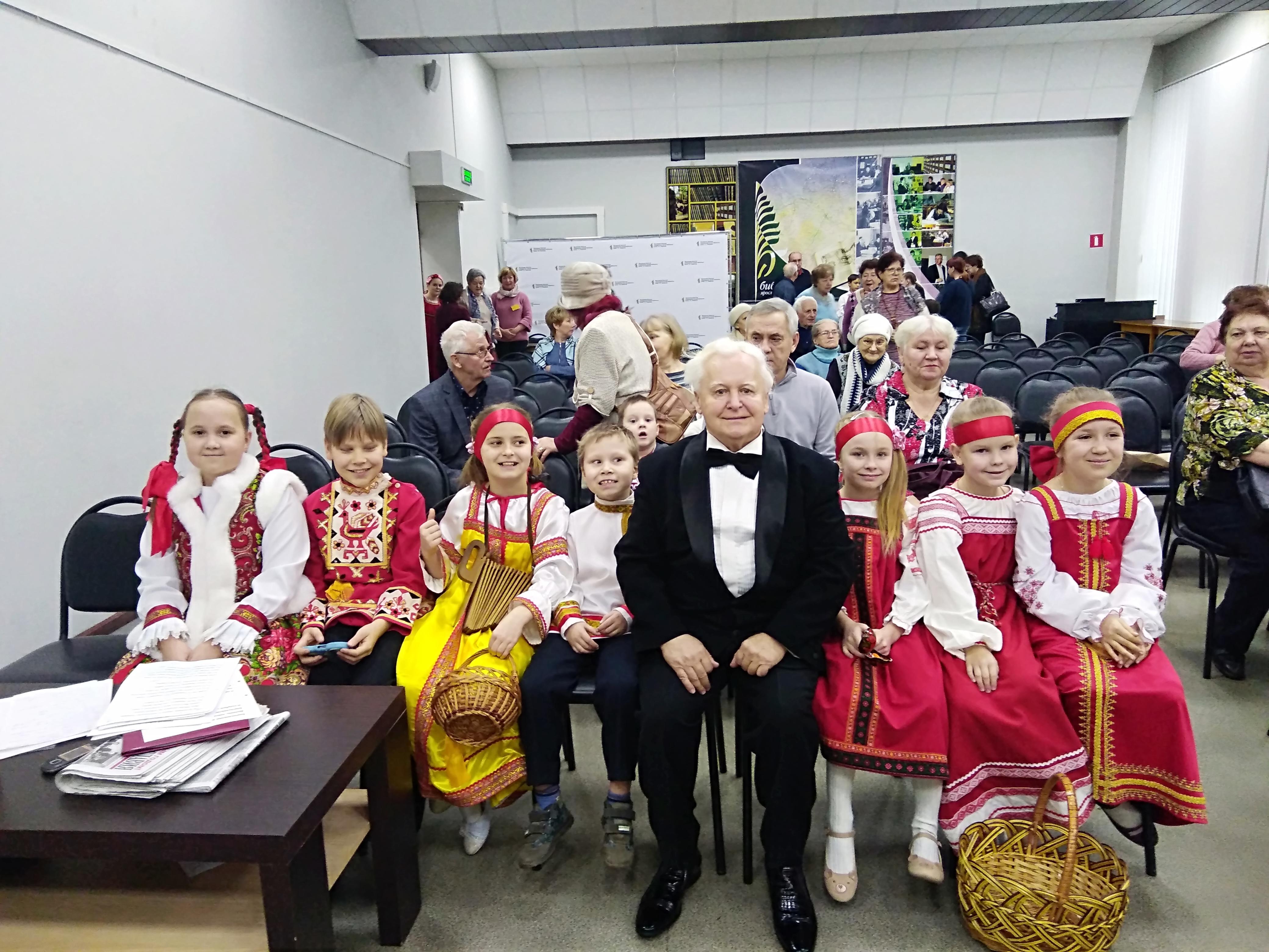 В библиотеке им. Н. А. Некрасова состоялся концерт «Звуки природы в русской вокальный музыке»