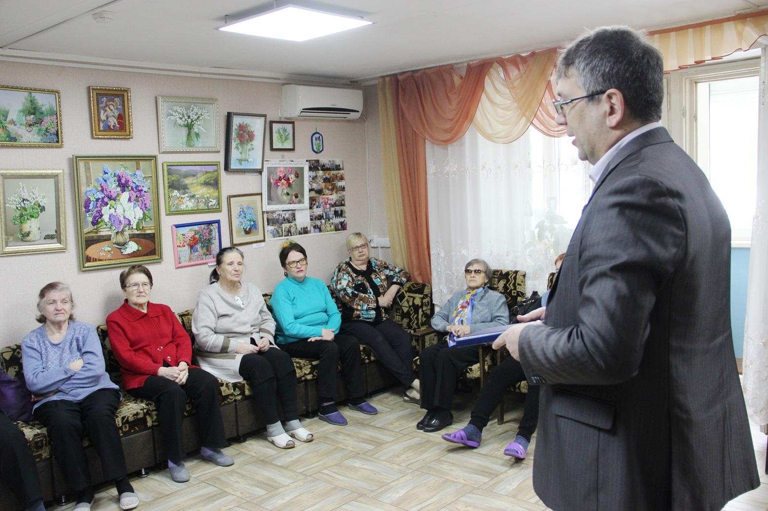 Эльхан Мардалиев встретился с жителями Заволжского района
