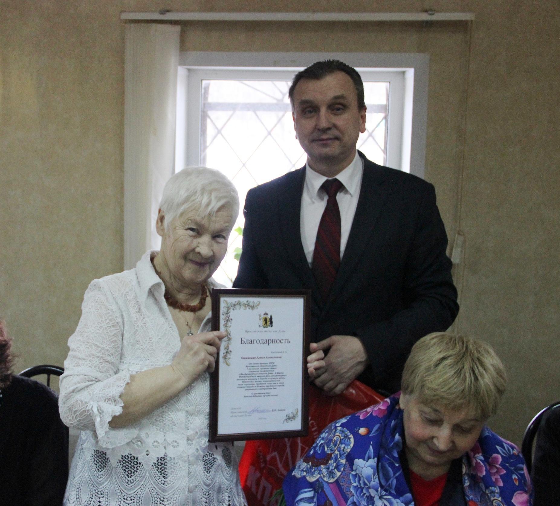 Не стареют душой ветераны Дзержинского района