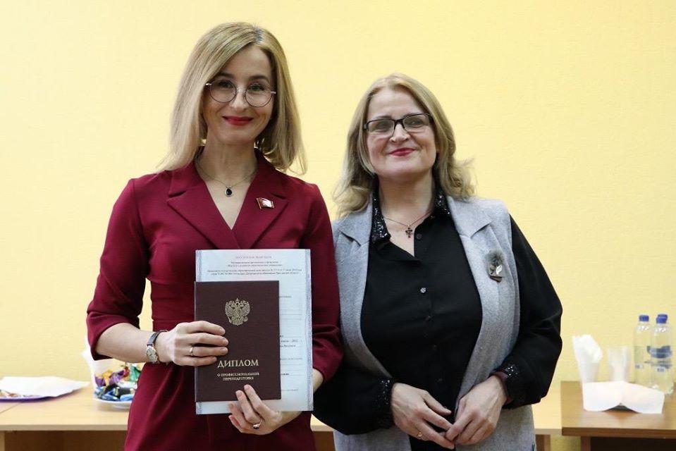 Депутаты КПРФ получили дипломы о профессиональной переподготовке