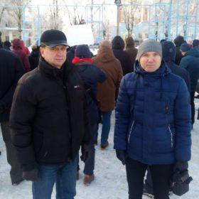 Валерий Байло и Вячеслав Майков