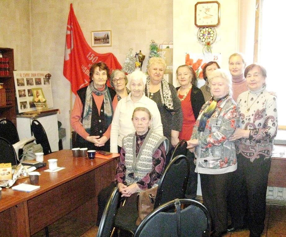 «Надежда России» Дзержинского района готовится к Дню Победы