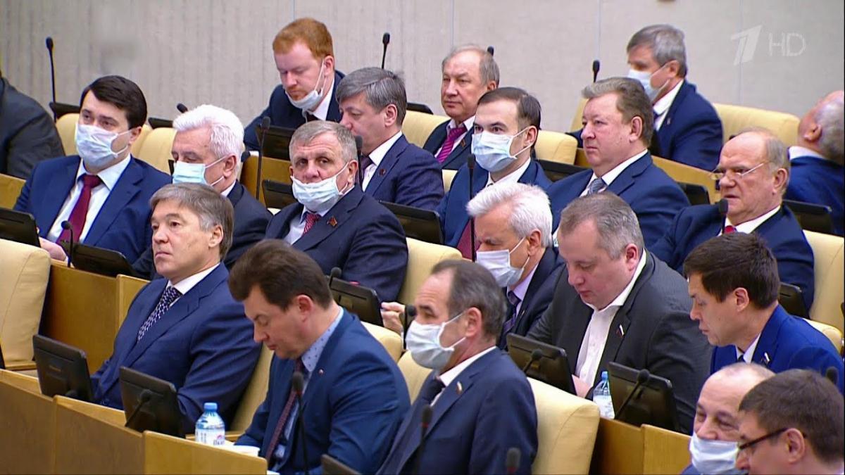 Газета «Советская Россия». COVID-19: Госдума экстренно принимает пакет антикризисных законов