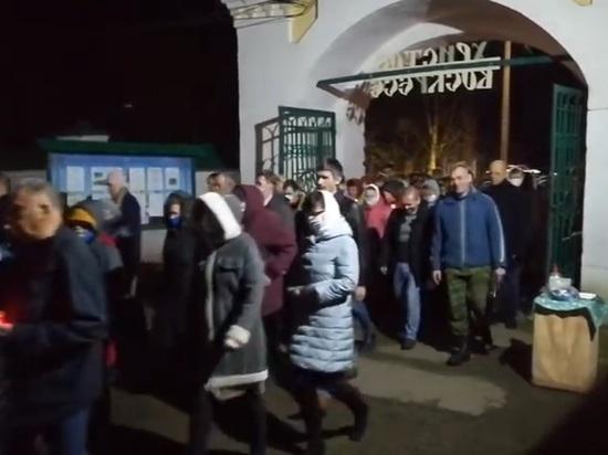 Крестный ход в Тутаеве можно, а первомайский митинг нельзя