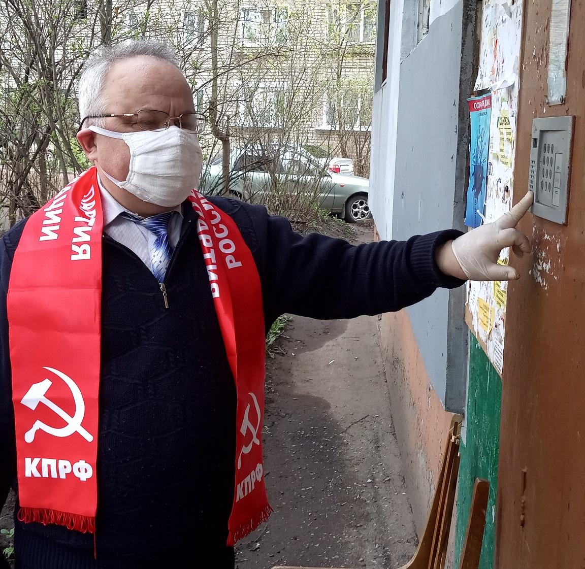Дмитрий Яковлев: Помощь ветеранам продолжается