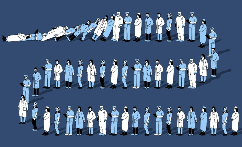 Смертность медиков от коронавируса в России в 16 раз выше, чем в других странах