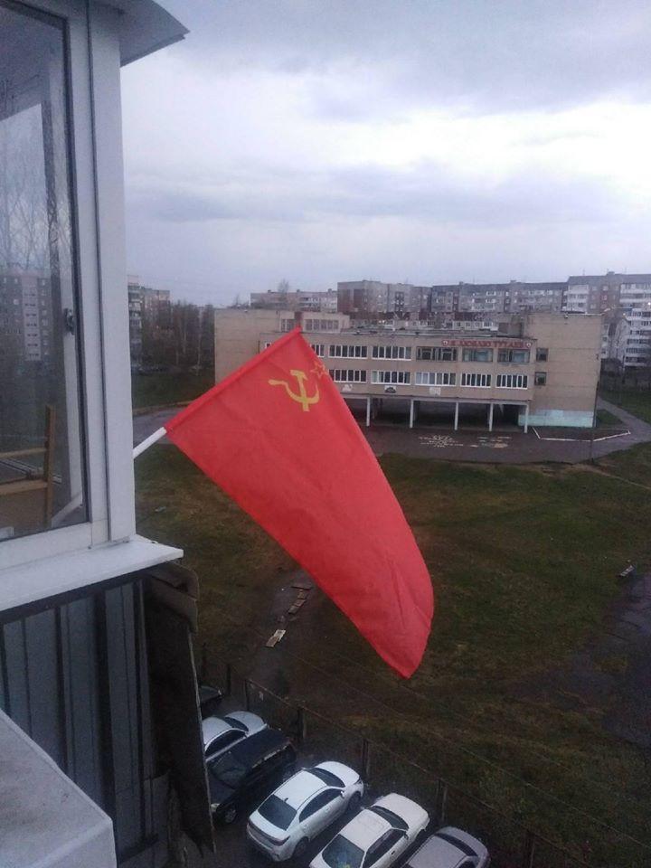 Флаги Победы в Тутаеве