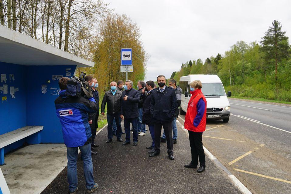 Депутаты-коммунисты проверили качество ремонта дорог в Гаврилов-Ямском районе